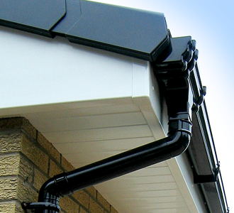 Replacement soffit, facia and gutters using uPVC soffits, facia and guttering by Synergy in Carlisle, Cumbria