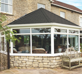 Solid Tiled Conservatory Roofs using the Guardian Warm Roof System