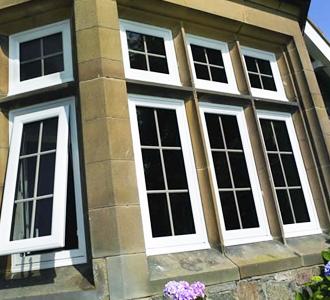 uPVC double glazed windows installed by Synergy in Cumbria