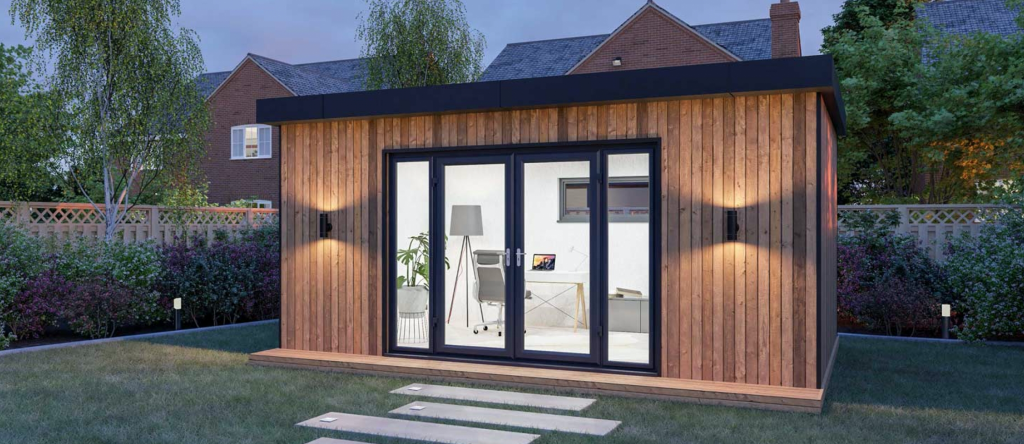 Garden Rooms for home offices, hobby space or a space to relax