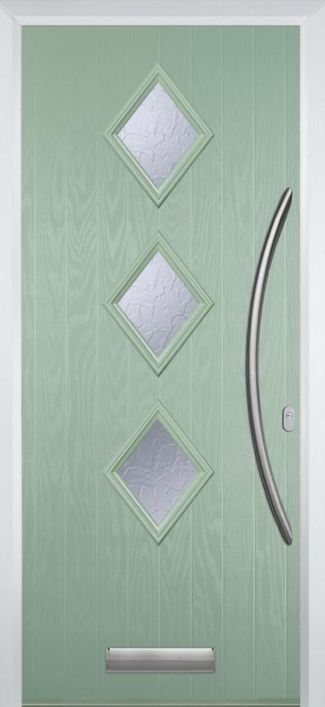 Chartwell Green Contemporary Composite Door