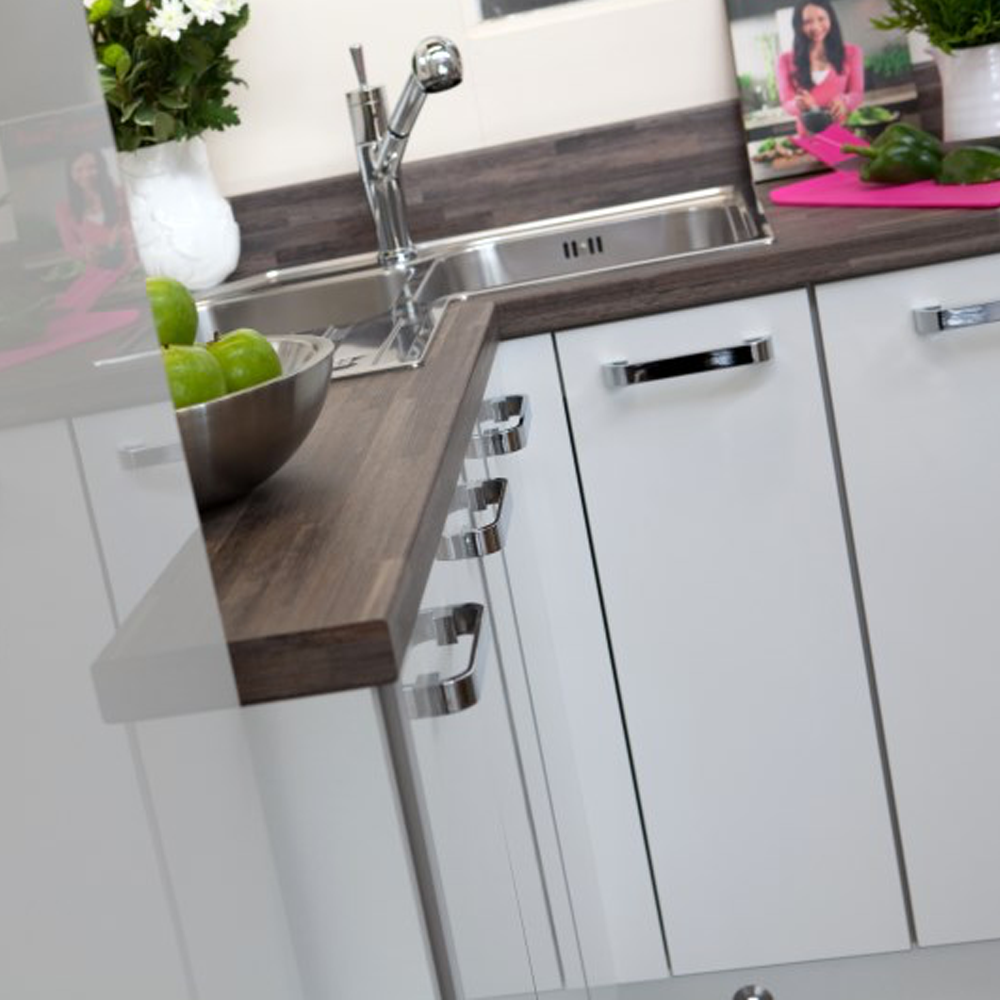 high gloss kitchen doors for a Kitchen Makeover