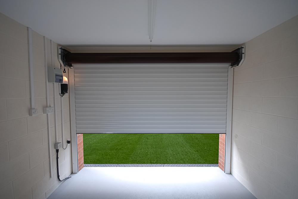 electric roller shutter garage door installers in Carlisle, Cumbria